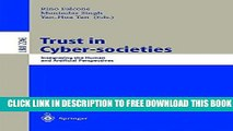 New Book Trust in Cyber-societies: Integrating the Human and Artificial Perspectives (Lecture