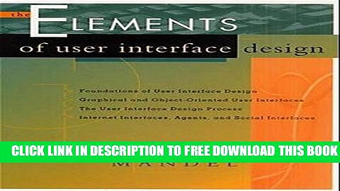Collection Book The Elements of User Interface Design