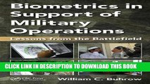 [PDF] Biometrics in Support of Military Operations: Lessons from the Battlefield Full Online