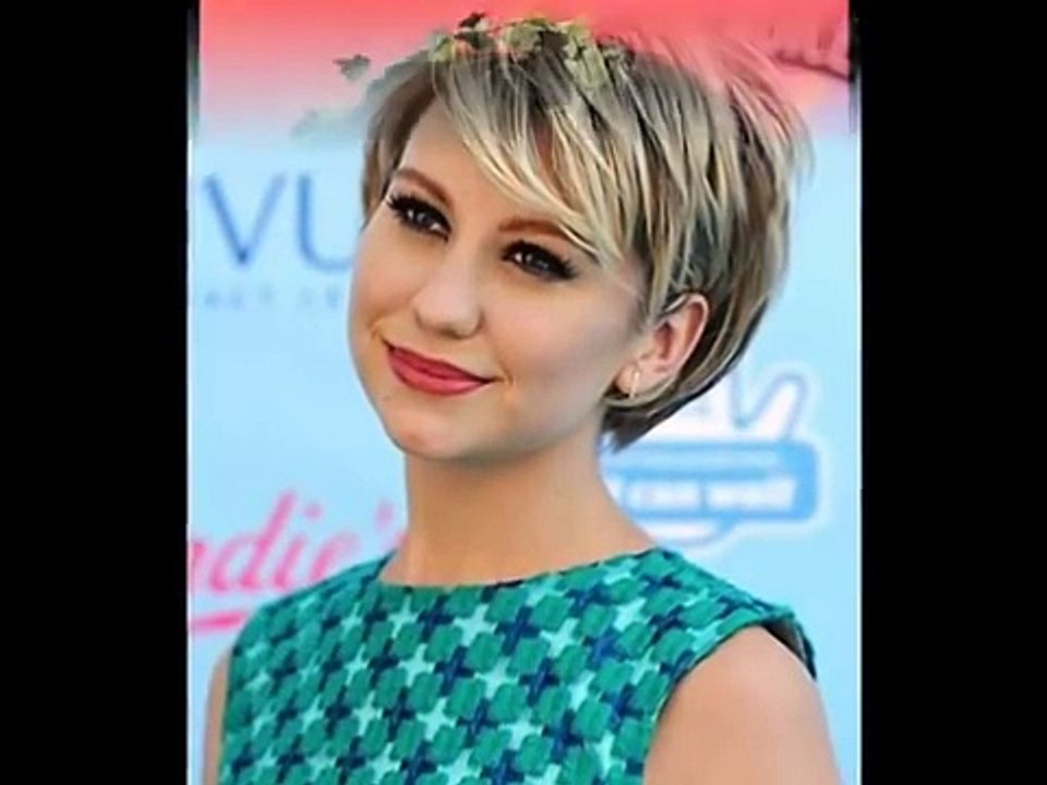 35 Short Hairstyles For Round Faces 2016 Video Dailymotion