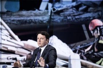 """Casa Italia, Renzi: """"Piano decennale, no a battaglie politiche su ricostruzione e prevenzione"""""""