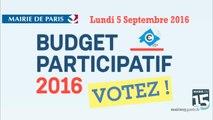 Reunion publique  Budget Participatif dans le 15 eme arrondissement du Lundi 5 Septembre 2016
