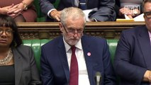 Theresa May reads embarrassing tweet to Jeremy Corbyn