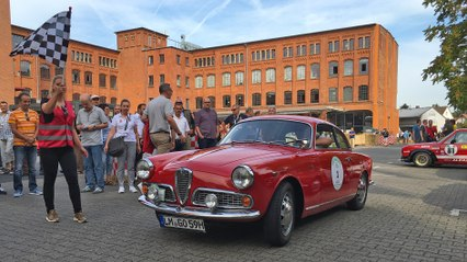 Footage: Weekend Italiano Storico 2016 - Giro Francoforte (ATMO)