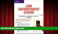 Online eBook Master the Law Enforcement Exams, 4/e (Arco Master the Federal Law Enforcement Exams)