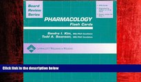 Online eBook BRS Pharmacology Flash Cards (Board Review Series)