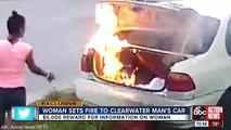 Une femme met le feu à la voiture de son ex-copain mais s'est trompé de voiture...