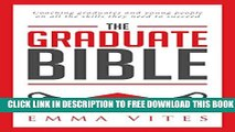 Collection Book The Graduate Bible- A coaching guide for students and graduates on how to stand