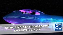 Un Boeing 747 transformé en boîte de nuit pour le Festival Burning Man