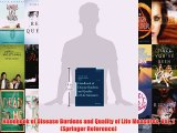 [PDF] Handbook of Disease Burdens and Quality of Life Measures Vol. 1 (Springer Reference)