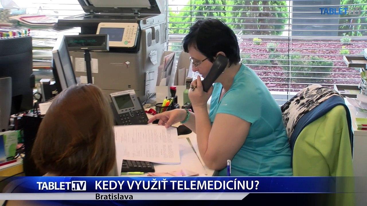 Telemedicínu môžete využiť aj na Slovensku