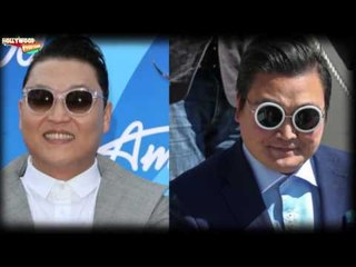 FAKE 'Psy' Parties in Cannes Film Festival with Hollywood Celebrites