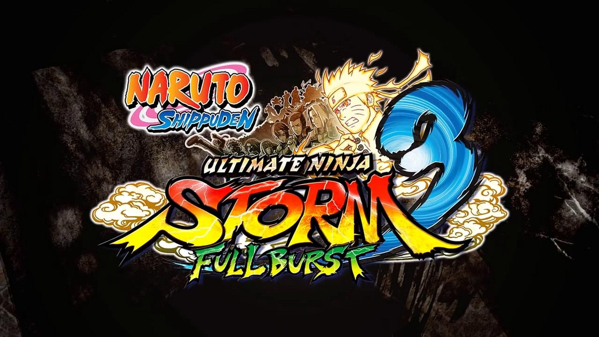 Naruto SUN Storm 3 Full Burst - PC/PSN/XBL - Sage Mode Kabuto