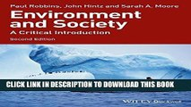 [PDF] Environment and Society: A Critical Introduction Full Online[PDF] Environment and Society: A