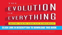 [PDF] The Evolution of Everything: How New Ideas Emerge Full Online[PDF] The Evolution of