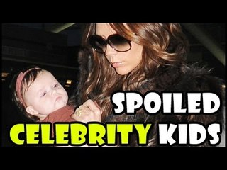 Hollywood's MOST SPOILED Celebrity Kids - Blue Ivy Carter, Suri Cruise