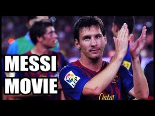 Football star Lionel Messi to star in his biopic movie