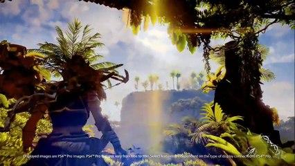 Horizon Zero Dawn Gameplay on PS4 PRO - Playstation Meeting Event de Horizon Zero Dawn