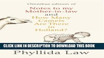 New Book Notes to my Mother-in-Law and How Many Camels Are There in Holland?: Two-book Bundle