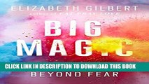 Collection Book Big Magic: Creative Living Beyond Fear