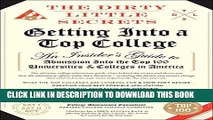 New Book The Dirty Little Secrets of Getting into a Top College