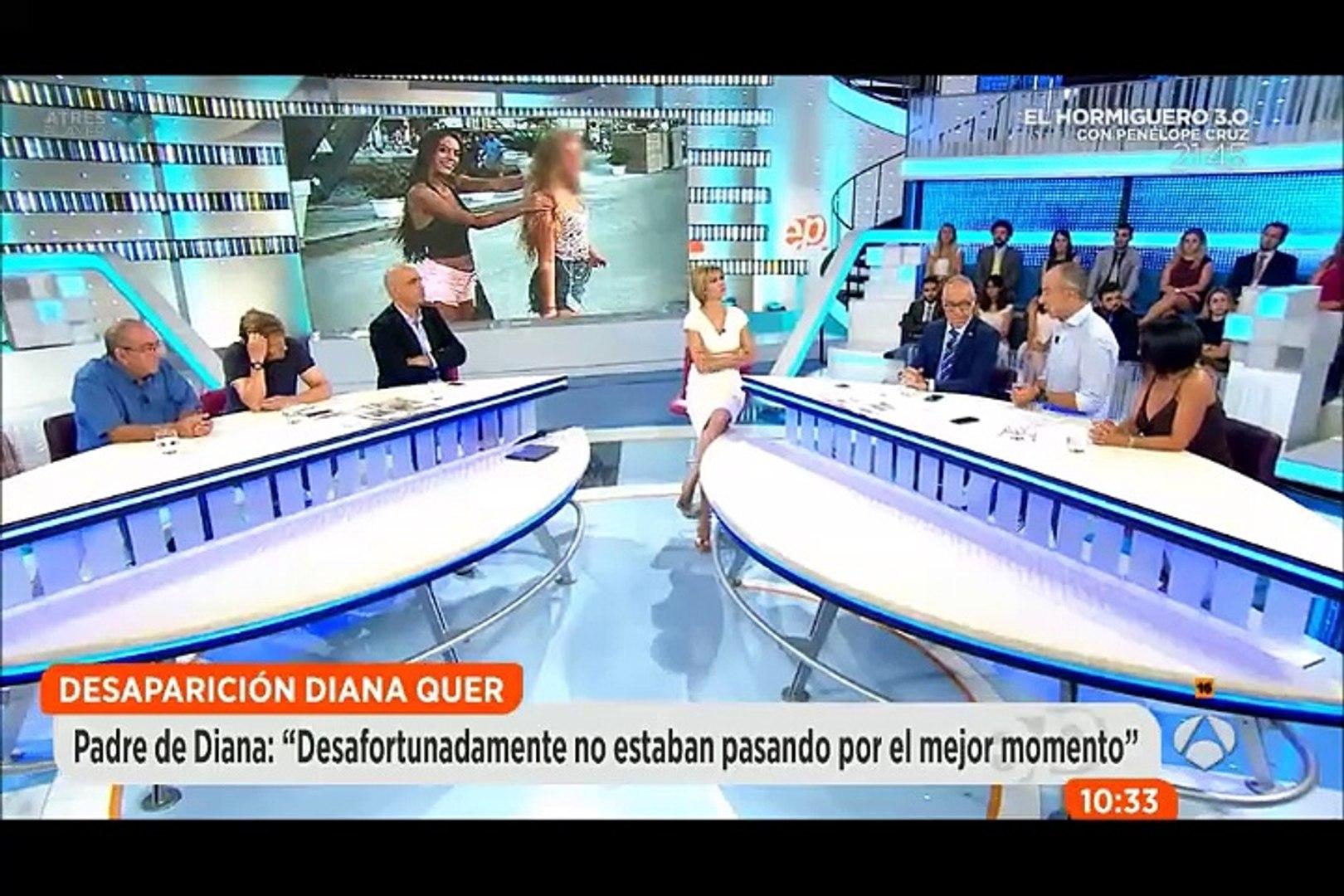 Caso Diana Quer. A3. Espejo Público. Cámaras de seguridad. Entrevistas con el abogado de Diana López