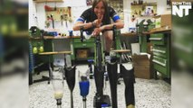 Cyclist Competes At Paralympics With 3D Printed Prosthetic Leg