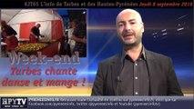 HPyTv JT65   L'info de Tarbes et des Hautes Pyrénées (8 septembre 2016)