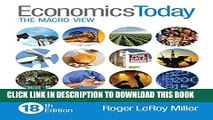[PDF] Economics Today: The Macro View (18th Edition) Full Online