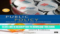 [PDF] Public Policy; Politics, Analysis, and Alternatives Popular Online