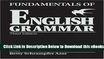 Without Answer Key Black Fundamentals of English Grammar Student Book Full Third Edition