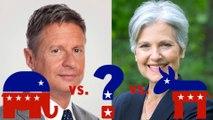 Third Party Candidates Gary Johnson And Jill Stein Hurt Hillary More Than Trump