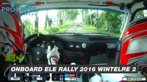 ONBOARD ELE Rally 2016 BMW M3 E30 by Mats vd Brand & Eddy Smeets