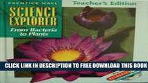 New Book Science Explorer: From Bacteria to Plants