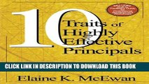 Collection Book Ten Traits of Highly Effective Principals: From Good to Great Performance