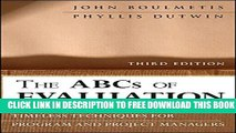 Collection Book The ABCs of Evaluation: Timeless Techniques for Program and Project Managers