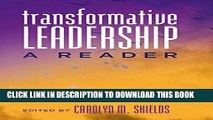 [PDF] Transformative Leadership: A Reader (Counterpoints) Full Collection