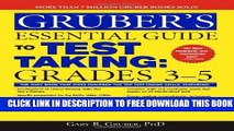 Collection Book Gruber s Essential Guide to Test Taking: Grades 3-5