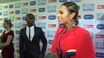 Alesha Dixon stuns on red carpet with partner Azuka Ononye