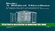Download Bede: A Biblical Miscellany (Translated Texts for Historians LUP)  Ebook Free