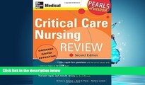 Enjoyed Read Critical Care Nursing Review: Pearls of Wisdom, Second Edition