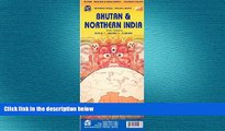 complete  Bhutan   Northern India 1:345 000/1:2 100 000 (International Travel Maps)