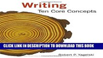 New Book Writing: Ten Core Concepts