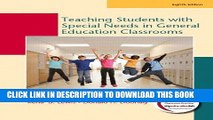 New Book Teaching Students with Special Needs in General Education Classrooms (8th Edition)