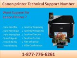 Effective Remedy through Canon Printer Technical Support Number 1-877-776-6261