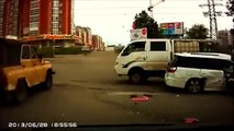 Stupid Russian Drivers accidents & car crash compilation- August A156