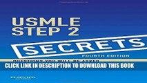 New Book USMLE Step 2 Secrets, 4e