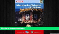 EBOOK ONLINE  Berlitz Mandarin Chinese in 30 Days (Berlitz in 30 Days) (Chinese Edition)  BOOK