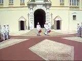 2007 Monaco - relève de la garde du palais princier