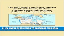 [PDF] The 2007 Import and Export Market for Electric Ovens, Cookers, Cooking Plates, Boiling
